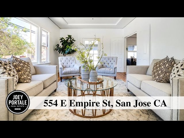 554 E Empire St, San Jose CA | Joey Portale | Coldwell Banker San Jose