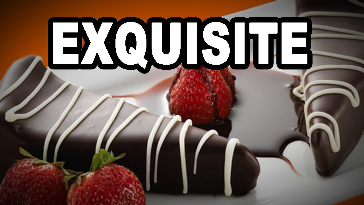 Learn English Words: EXQUISITE - Meaning, Vocabulary with ...