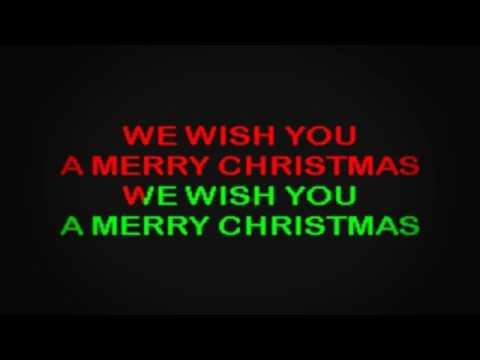 SC2032 08   Christmas   We Wish You A Merry Christmas [karaoke]