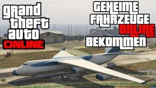 GTA Online - ALLE Geheimen Fahrzeuge bekommen! Cargo-Flugzeug, Luftschiff, Pinke Jets uvm.