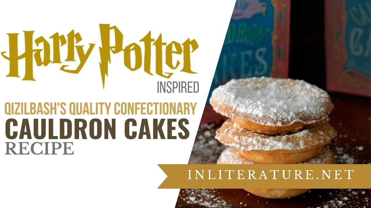 How To Make Cauldron Cakes From Harry Potter