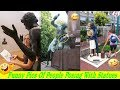 ║Funny Pictures║ People Posing With Statues #1