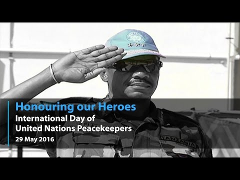The UN Honours our Heroes on Peacekeeping Day