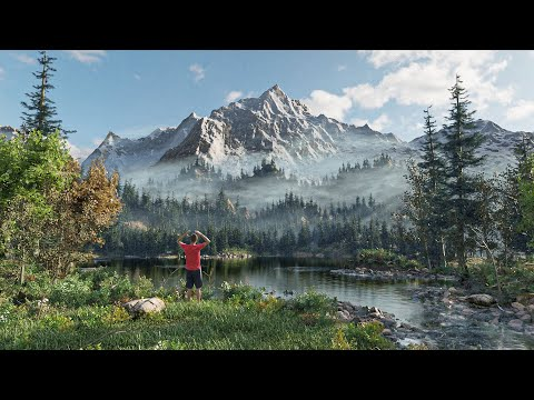 How I Turned a Bob Ross Painting into a 3D World