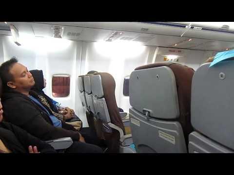 FLY W/ GA 101 BOEING 737 800 Pt. 1/2 | Palembang-Jakarta