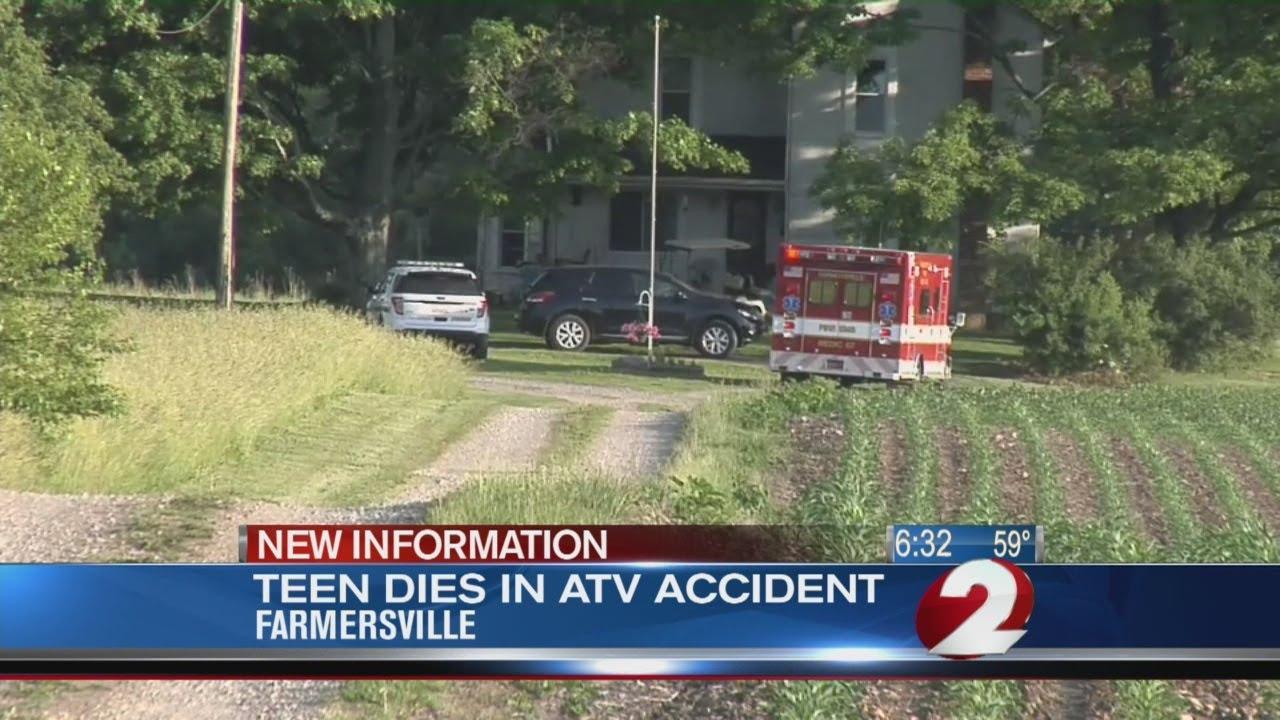 14-year-old boy dies in ATV crash
