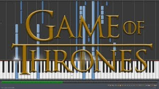 The Winds of Winter (Game of Thrones) | Piano Cover + Sheet Music