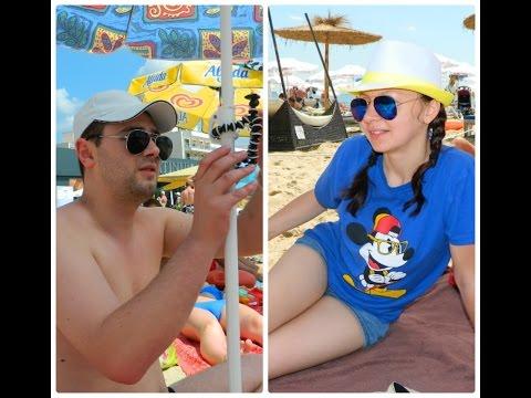 #16 VLOG. Один день с нами на море в Болгарии