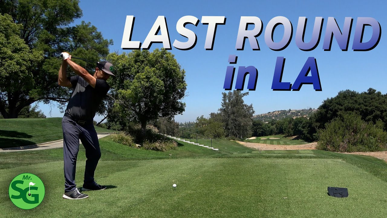 Last Round of Golf in Los Angeles