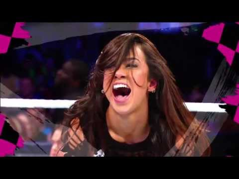 AJ Lee New Titantron 2013 With Download Link & Lyrics (Let's Light It Up)