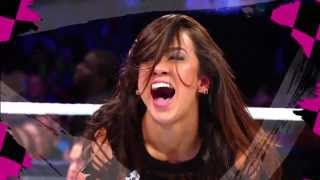 Repeat youtube video AJ Lee New Titantron 2013 With Download Link & Lyrics (Let's Light It Up)