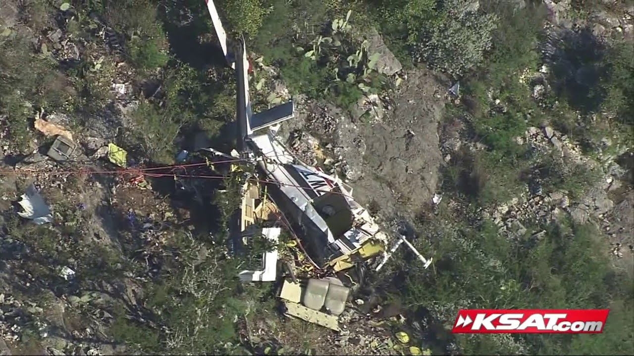 Video shows site of helicopter crash that killed newlyweds leaving wedding  ceremony