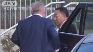 米朝実務者協議 北朝鮮代表団がスウェーデンに到着(19/10/04)