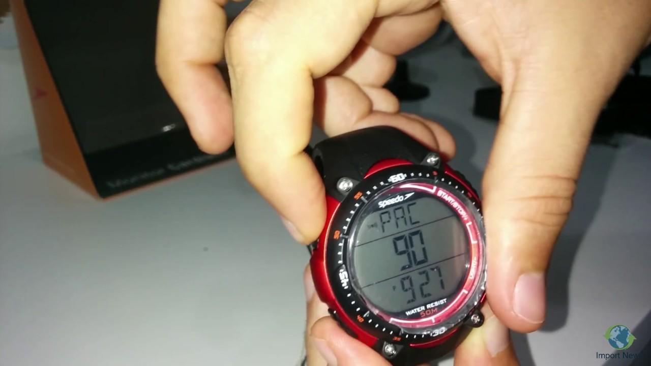 porcelana corazón Bungalow  Relógio speedo monitor cardíaco (contador de passos?) - YouTube