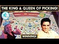 TAKING ALL THE KING'S  MONEY! AMAZING PICKING on ELVIS LIVES SLOT MACHINE!
