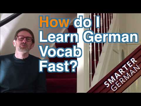 AMA-How to learn German Vocabulary Fast