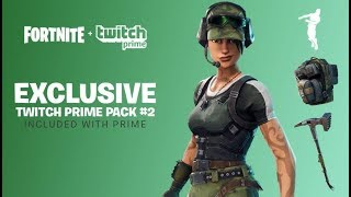 Come sbloccare la SKIN GRATIS TWITCH PRIME 2 | Fortnite