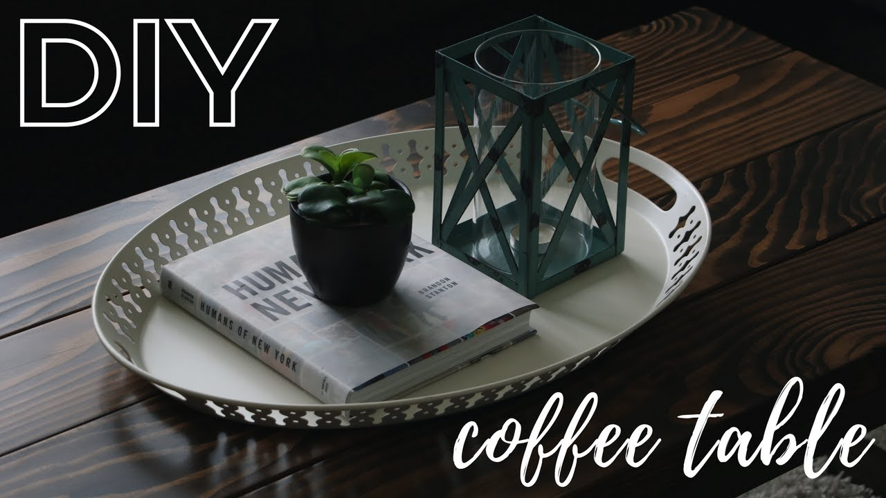 Diy Rustic Coffee Table An Easy How To Guide
