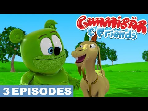 Gummy Bear Show 'Cute Animals' Gummibär And Friends Episode Compilation
