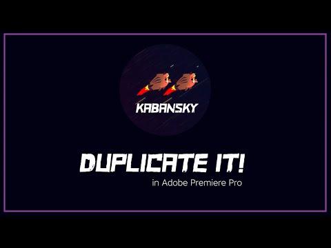 Duplicate It for Premiere Pro