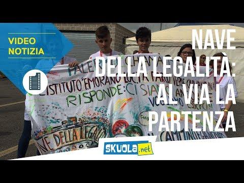 #PalermoChiamaItalia: la partenza della Nave della Legalità