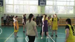 Соревнования девушек 2012(Баскетбол)