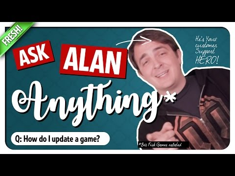 How To Update A Game? Ask Alan - Big Fish Games Customer Support!