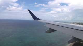 JetBlue Embraer 190 Landing in Nassau, Bahamas