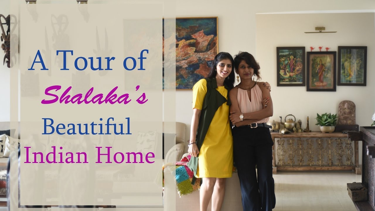 An Indian Home Tour : Inside Shalakau0027s Beautiful Indian Home   YouTube