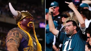 Vikings Fans Plotting REVENGE Against Eagles Fans at Super Bowl 52 in Minnesota