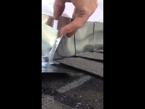 Outside Corner To Roof Deck Flashing Detail Youtube