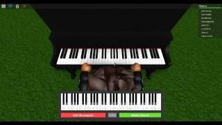 ROBLOX PIANO/TRUE LYRICS/ WRECKING BALL- MILEY CYRUS
