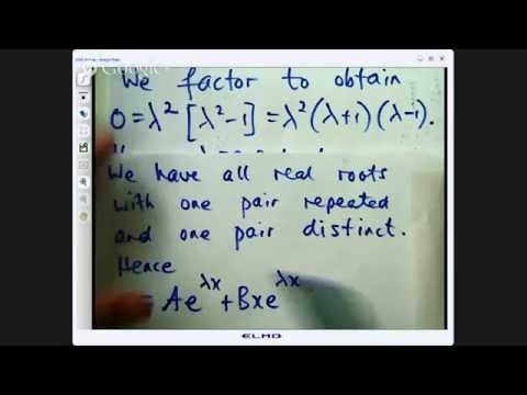 annihilator method differential equations The annihilator method is a systematic way to find the particular solutions to a nonhomogeneous linear ode.