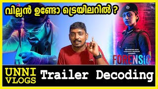 Forensic Malayalam Trailer Decoding by Unni Vlogs