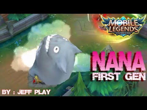 Mobile Legends Miss Old Gameplay Nana First Generation Best