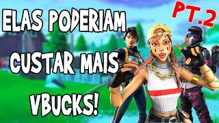 7 800 V-BUCKS SKINS QUI sont très VALABLEs! -FORTNITE BATTLE ROYALE