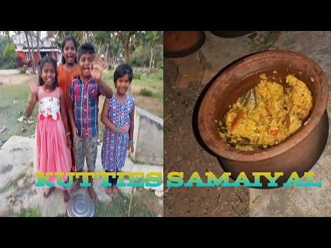 Egg rice recipe kutties cooking vlog
