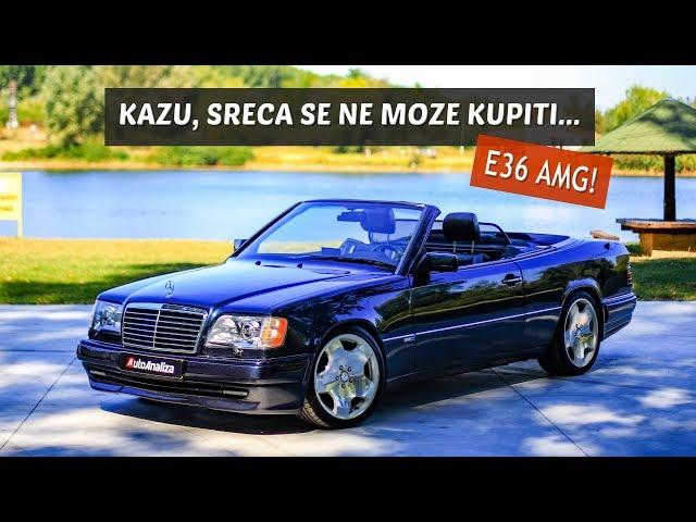 Specijal test: Mercedes E36 AMG! W124 na steroidima!