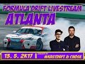 Livestream Formula D Atlanta Commented by #KRSTDRFT & Chose.cz