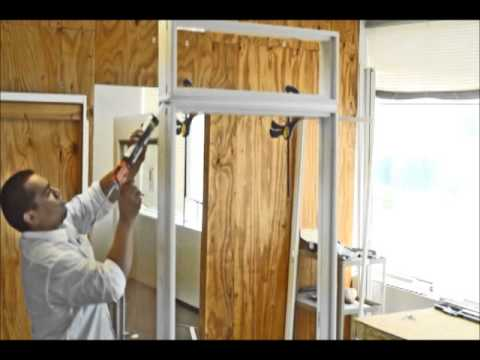 How To Mull A Transom Unit To A Neuma Door