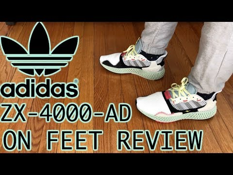 b46fc12d4bc9c ADIDAS ZX 4000 4D Futurecraft REVIEW - YouTube