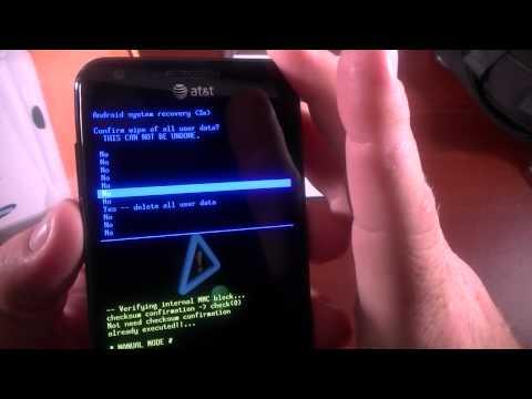 Samsung Galaxy S II Hard Reset