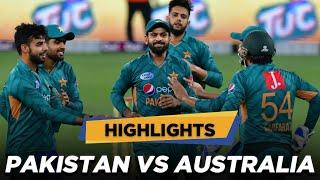 Pakistan vs Australia   1st T20I Highlights   MA2E