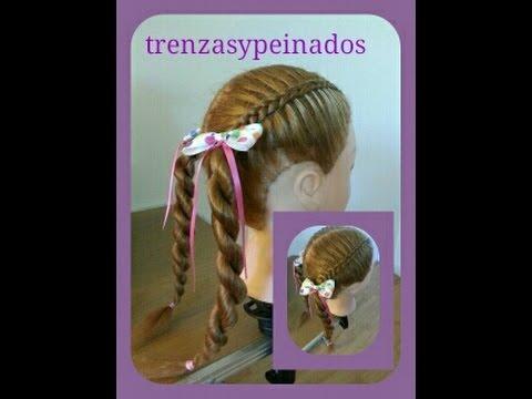 Peinados para ni as trenzas y peinados braids for girls - Trenzas para nina ...