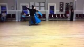 Viennese waltz practice session