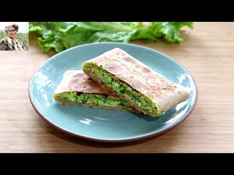 breakfast-in-10-minutes---no-oil-healthy-&-quick-paneer-paratha---tiffin-recipes---skinny-recipes