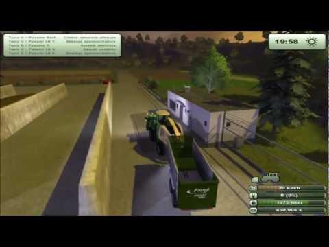 Farming Simulator 2013  Scarico Insilato Krone Big X 1000