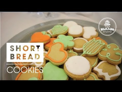 Classic Shortbread Cookies | Cách làm bánh quy bơ đơn giản | Nhi Chan