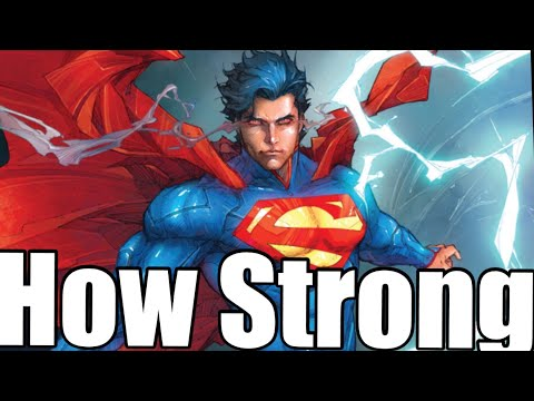 How Strong is Superman (NEW52) | How Strong Series | DC COMICS