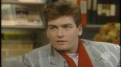Charlie Sheen talks about the family name, 1986: CBC Archives | CBC